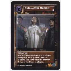 Rules of the Game (Ally)