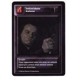 General Katana : Intimidate