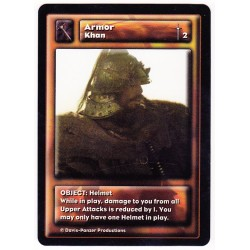 Khabul Khan : Armor (Helmet)
