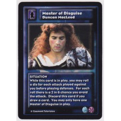Duncan MacLeod : Master of...