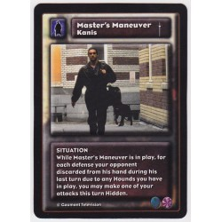 Kanis : Master's Maneuver